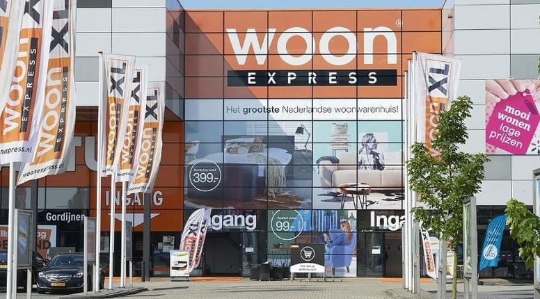 foto van de vestiging van woonexpress woonexpress amsterdam zuidoost meubels woonaccessoires