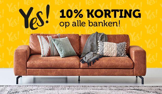 10% korting op alle banken