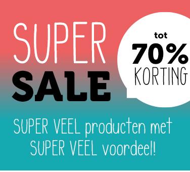 Super sale - kortingen tot 70%