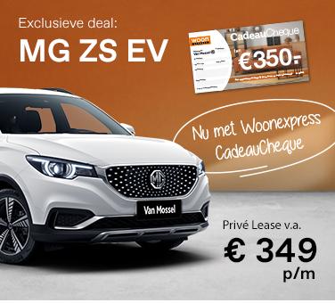 Exclusieve deal met Van Mossel MG